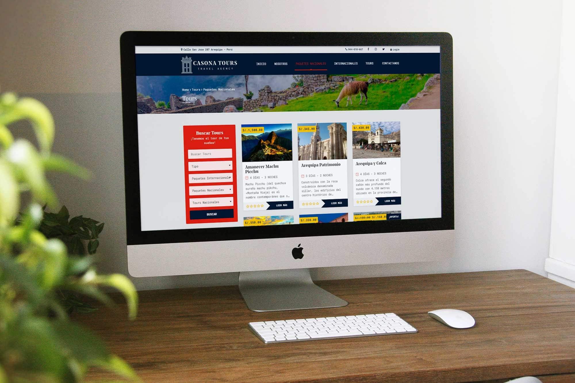 Diseño Web en Arequipa - Tienda Online