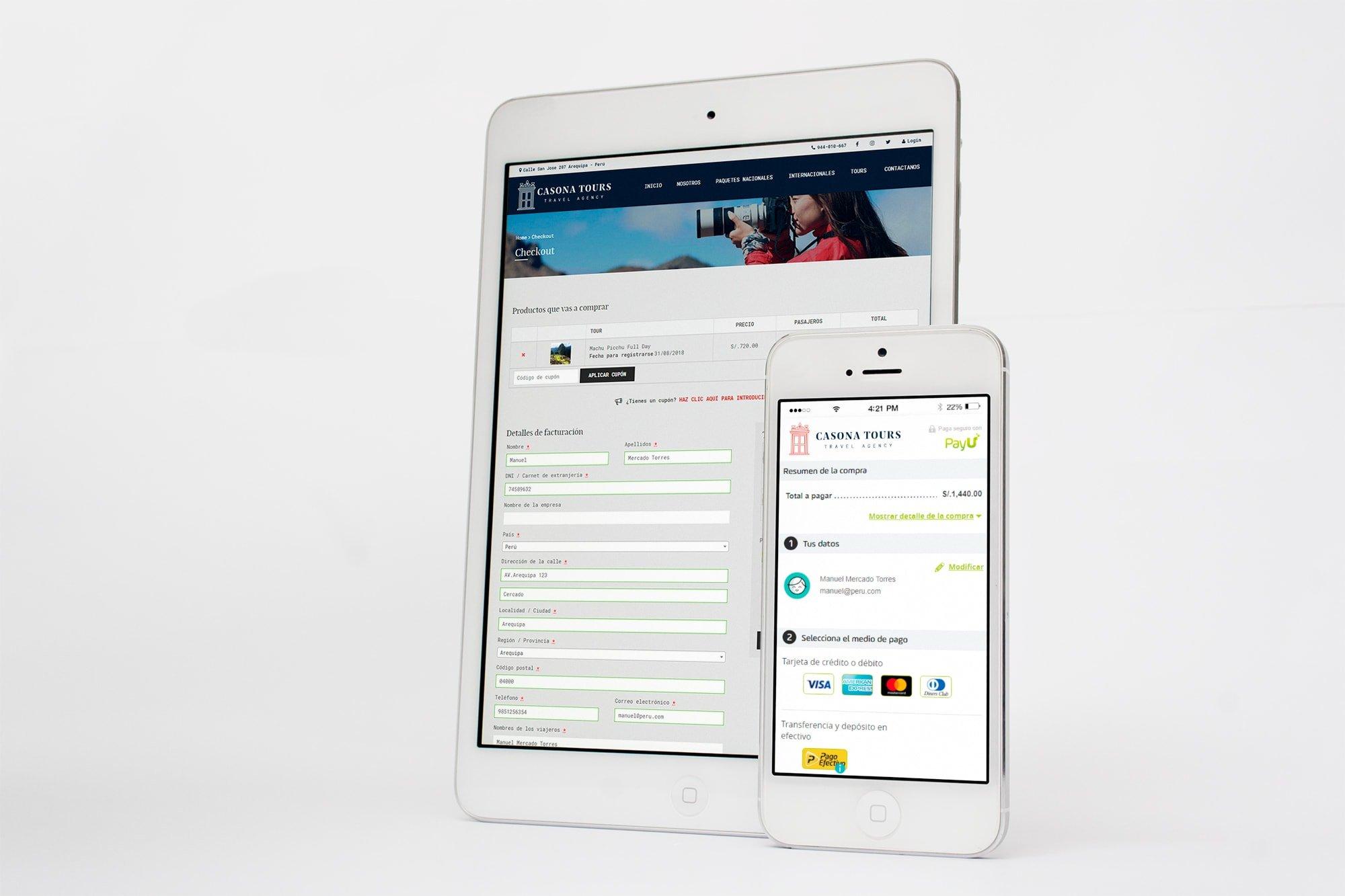 Desarrollo de tienda online en Arequipa con pasarela de pagos en línea