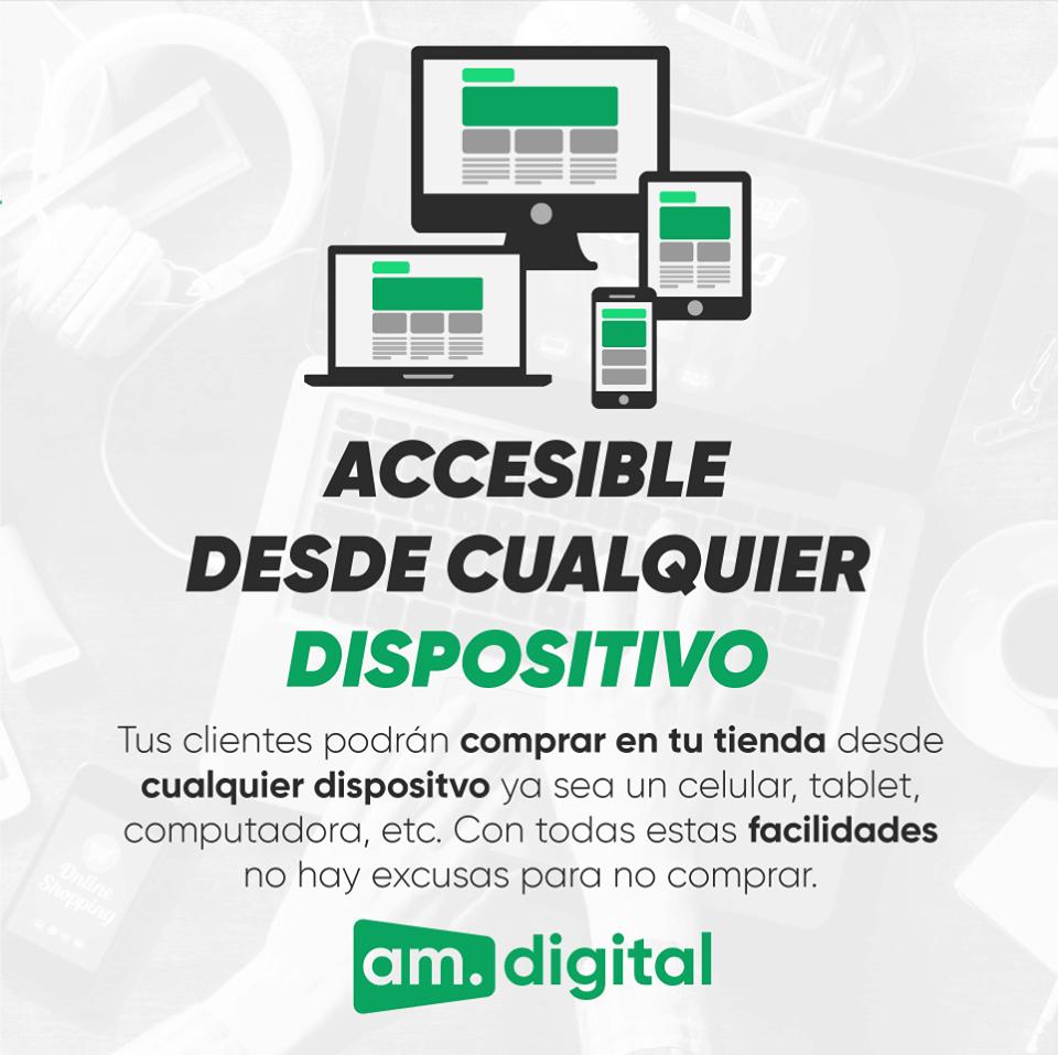 Tienda Virtual Responsive en Arequipa