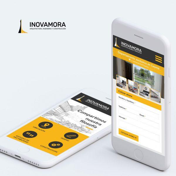 Diseño de Página Web para Inmobiliaria y Constructora en Arequipa - INOVAMORA