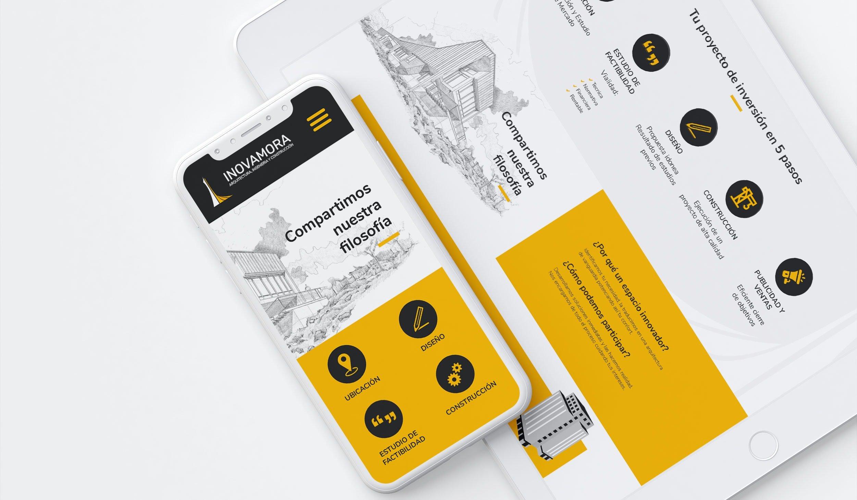 Diseño Web Adaptable para Inmobiliaria en Arequipa - INOVAMORA