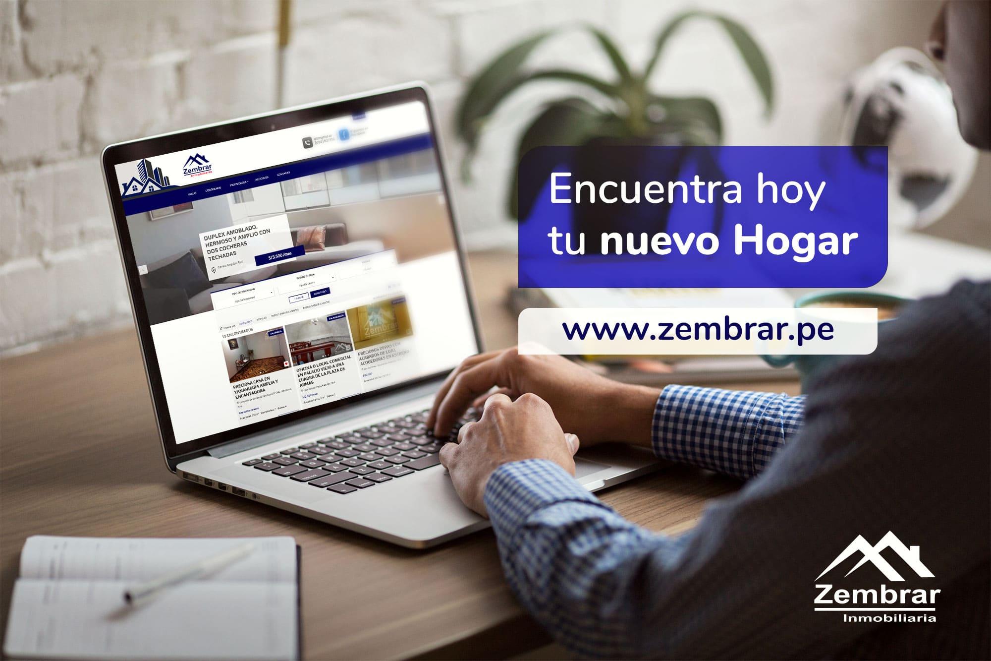 Página Web en Arequipa para Inmobiliarias