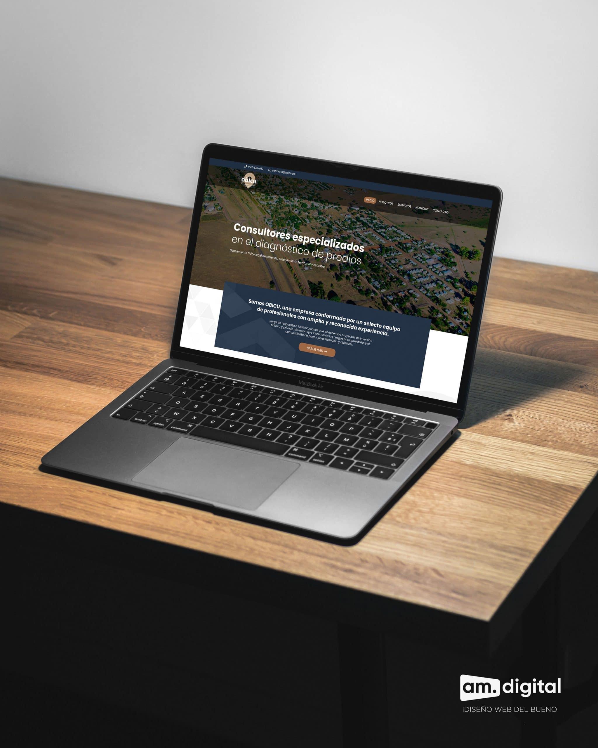 Desarrollo de Página Web para Empresa de Consultoría en Arequipa