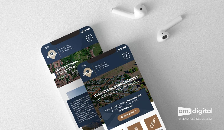 Diseño de Página Web Responsive para Empresa de Consultoría en Arequipa