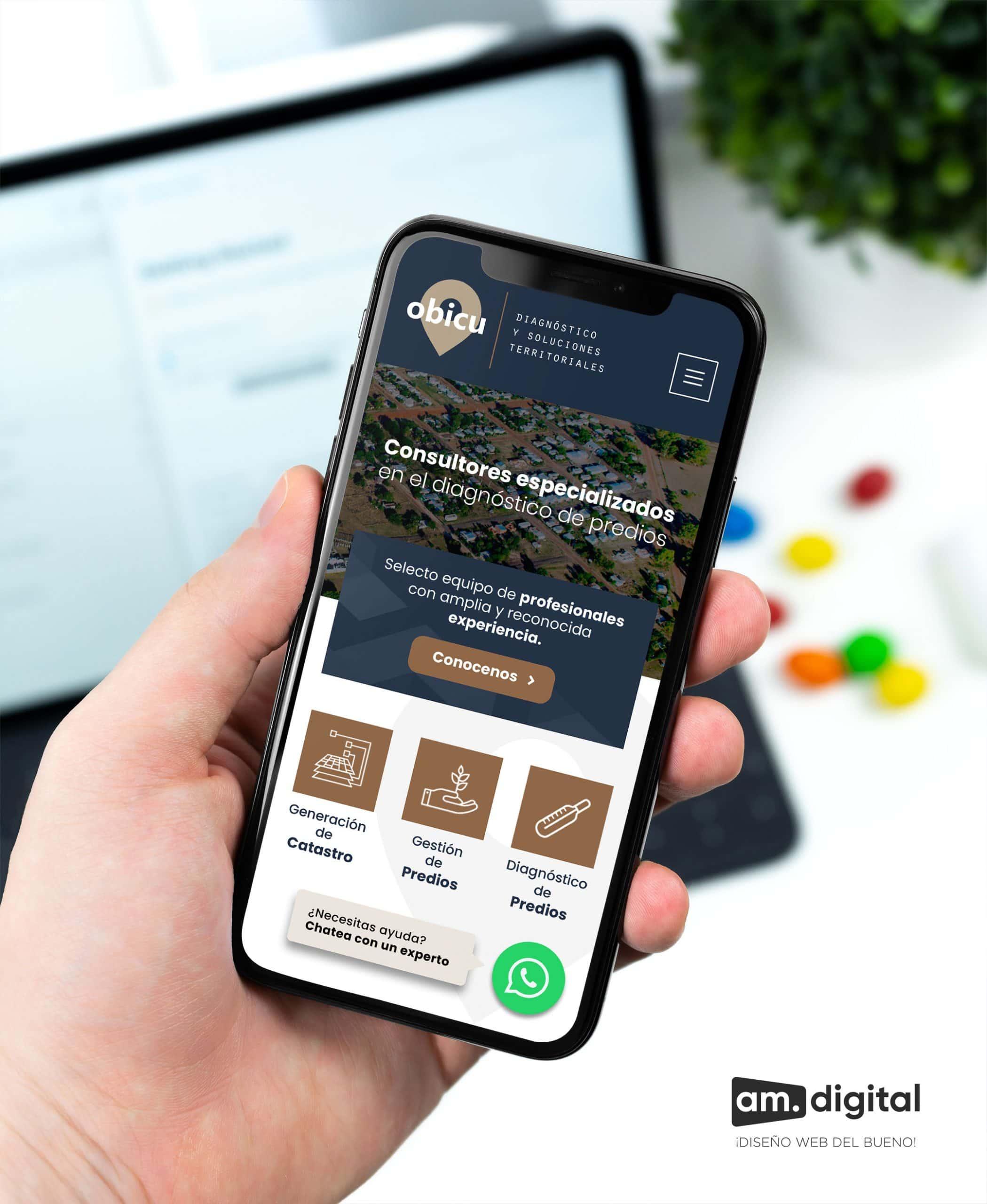 Elaboración de Página Web para Empresa de Consultoría en Arequipa